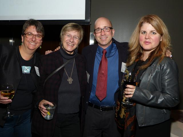 Beth Hawkins, Terry Gydesen, Bill Kelley and Heather Miller-Kelley