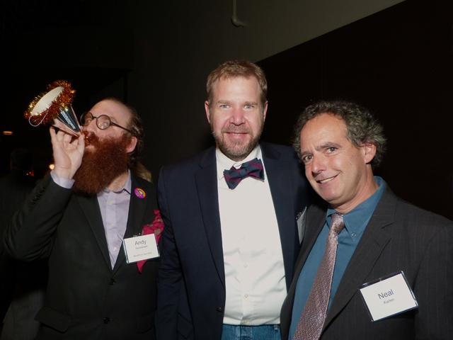 Andy Sturdevant, Corey Anderson and Neal Karlen