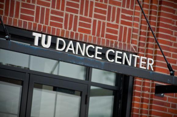 TU Dance Center façade