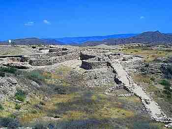 Los Millares Fortifications, Santa Fe de Mondújar, Almeria, Andalusia, Spain