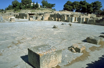 Phaistos: The Central Court