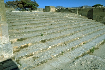 Phaistos: The Magnificent Staircase
