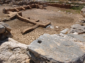 Zakros: part of the East Wing