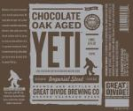 Great Divide Chocolate Oak Aged Yeti Image