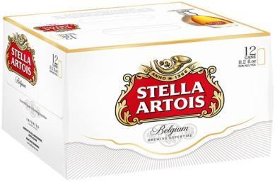 stella 12pk cans