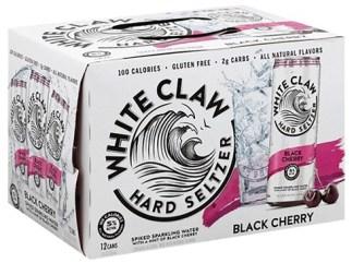 WHITE CLAW BLACK CHERRY 12 PACK
