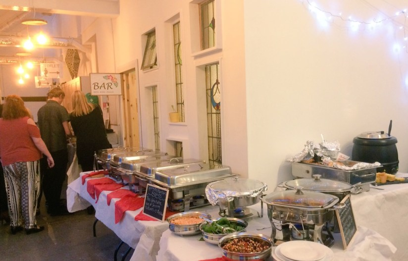 Tony Wilson's buffet