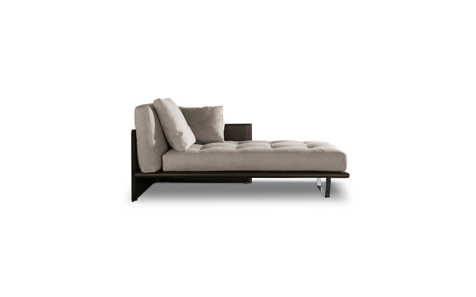 chez long sofa bed extra deep luggage chaise longue