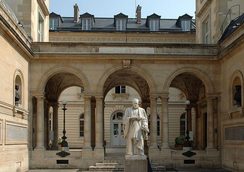 Minsili Zanga - Une chaire africaine au College de France (Paris) / DR