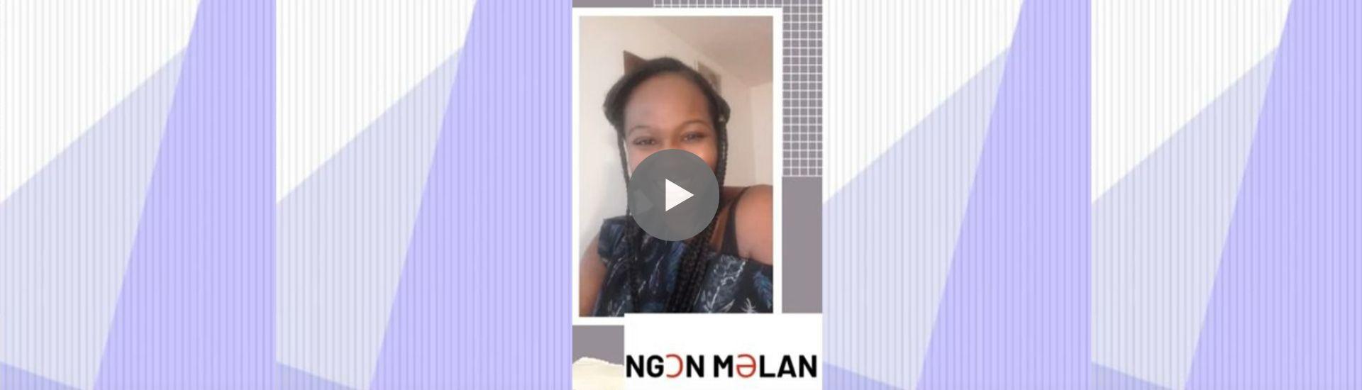 """MINSILI ZANGA """"Ngoan Melan"""" - Ecrivaine et poétesse camerounaise - Dzaleu.com Editor (VIDEOS de Minsilizanga.com)"""