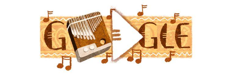 Le Mbira, instrument de musique Shona (Zimbabwe) à l'honneur sur Google doodle