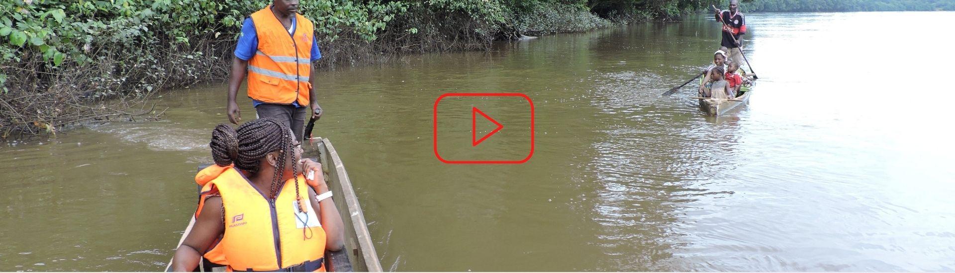 Sur les bords du fleuve Ngoko (part.1) - Minsili ZANGA