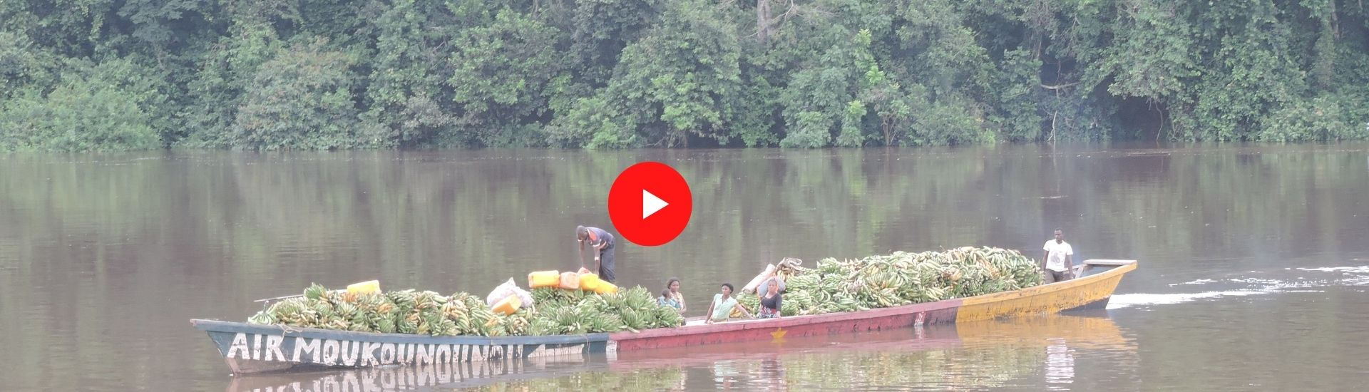 Escapade sur le fleuve Ngoko (Cameroun) - Minsili ZANGA