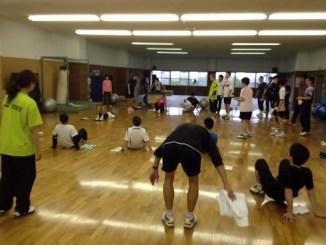 コアトレーニングの実習