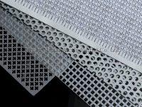 Alcobendas aluminum perforated wall cladding panel