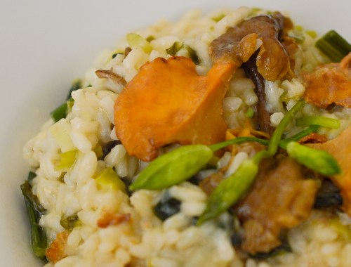 wild-garlic-and-mushroom-risotto