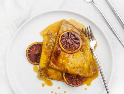 blood orange crepes suzette recipe