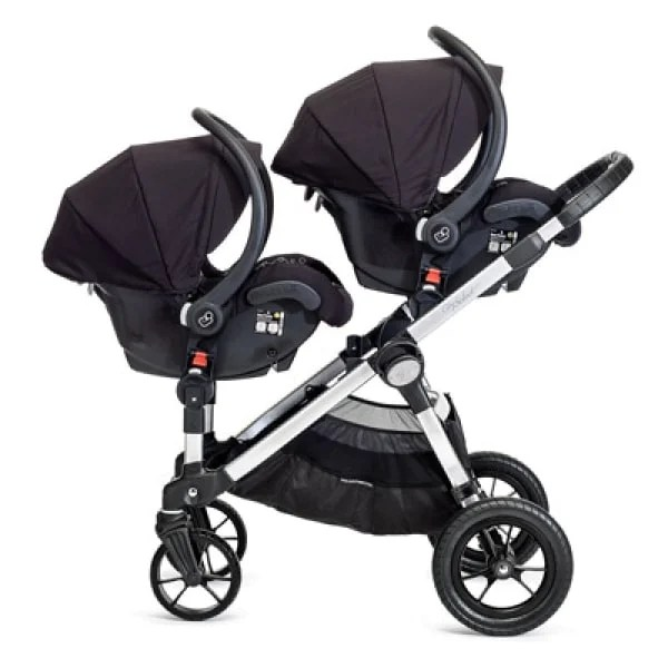 UPDATED! city select double stroller with free second seat ...