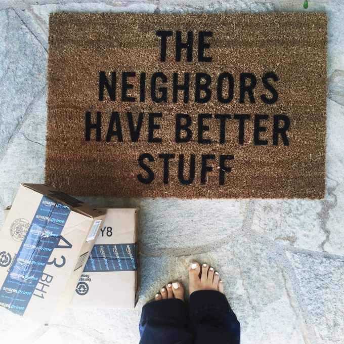 the neighbors have better stuff doormat