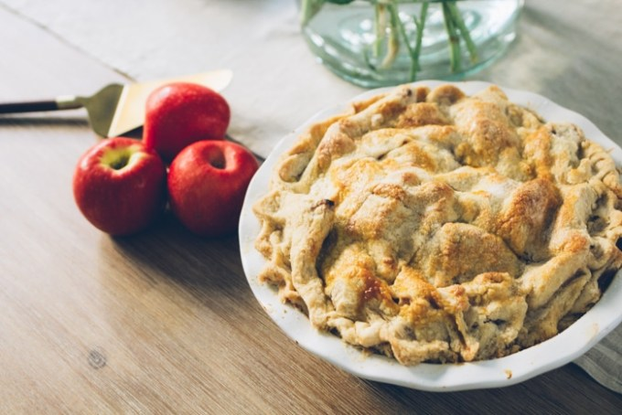 perfect apple pie recipe from a former caterer!