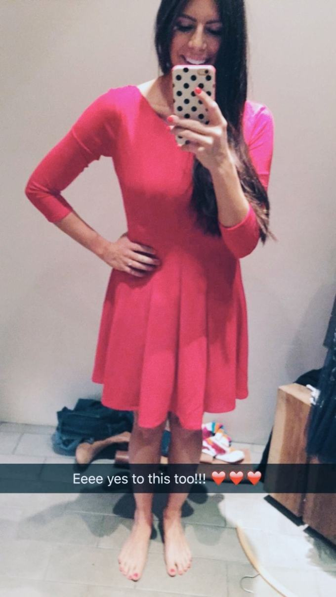 anthropologie crosstown dress in red