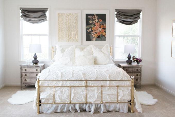 mint arrow master bedroom