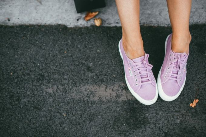 superga chalky pink sneakers