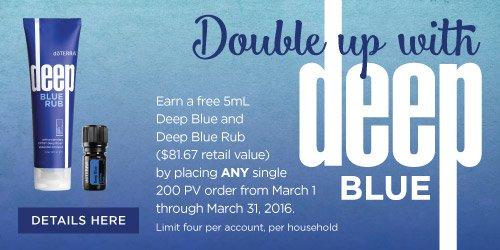 deep blue promo doterra