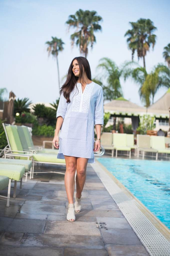 pretty pool cover up or summer dress from c wonder