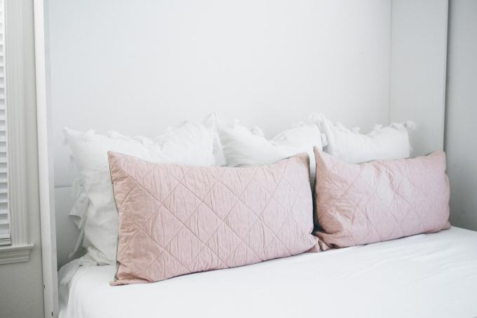 bloomingdales home ivory sham pillows
