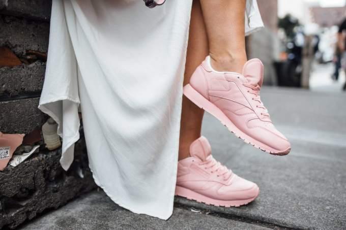 Reebok sneakers fall dress