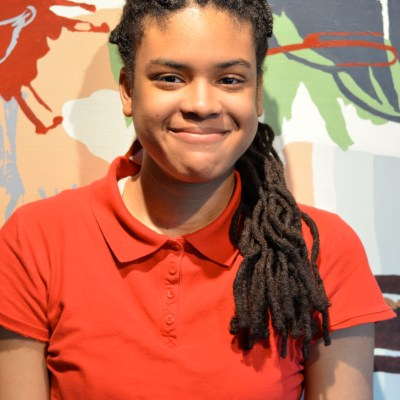 Tulani Pryor attends Kalamazoo College and works this summer for Mint Artists Guild.