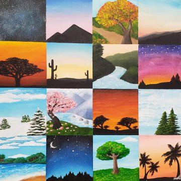 Creative, beautiful art at Mint Masterpieces, Part 1
