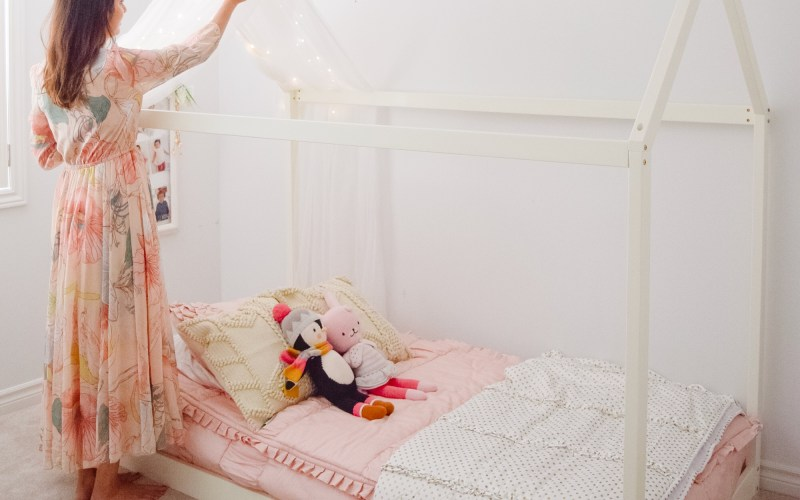Liyana's Transition to a Big Girl Room!