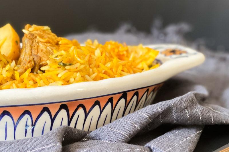 Chatpatti (Spicy) Chicken Biryani