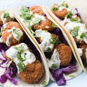 Easy Weeknight Shrimp Taco's with High Liner Oven Crunch Shrimp