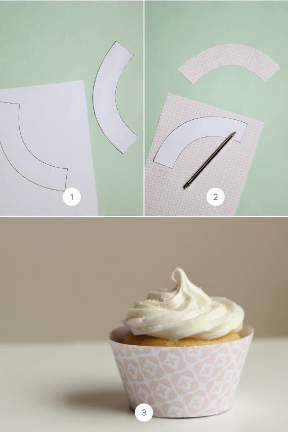 Easy and Easier Cupcake Liner DIY  Julep