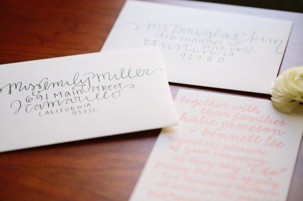 DIY Wedding Envelope Addressing