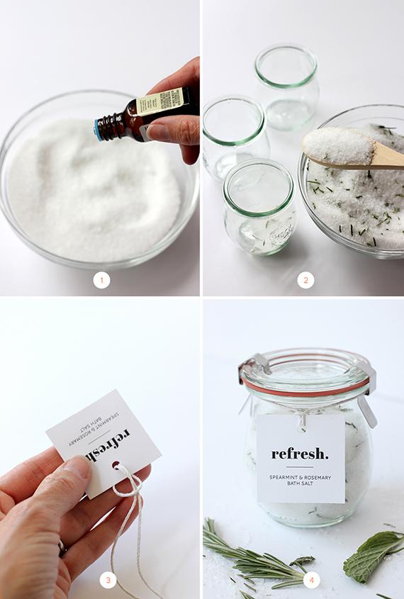 DIY Mothers Day Homemade Herbal Bath Salts Julep