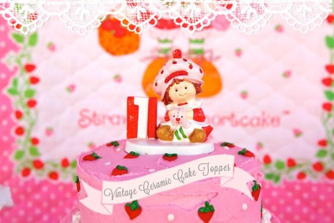 Strawberry Shortcake Themed 1st Birthday Party With Such Cute Ideas Via Kara S Karaspartyideas