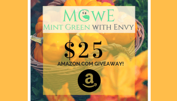 This week's MGwE $25 Amazon com Giveaway: 9/18 - 9/24 - Mint