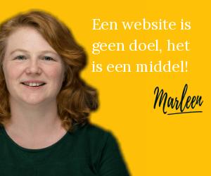 Een website is geen doel, het is een middel