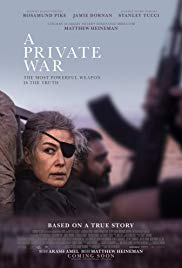 Watch A Private War (2018) Full Movie Online Free