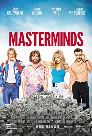 Watch Masterminds Full Movie Online Free