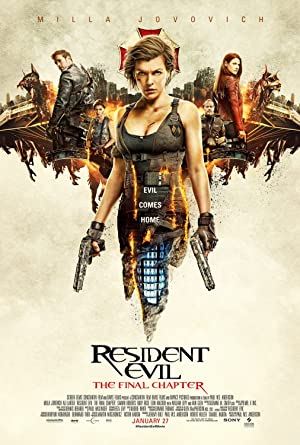 Watch Resident Evil: The Final Chapter Online Free