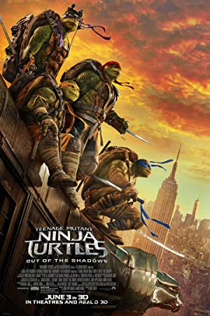 Watch Teenage Mutant Ninja Turtles: Out of the Shadows Full Movie Online Free