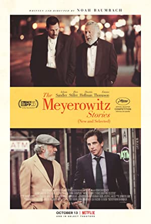 Watch The Meyerowitz Stories (New and Selected) Full Movie Online Free