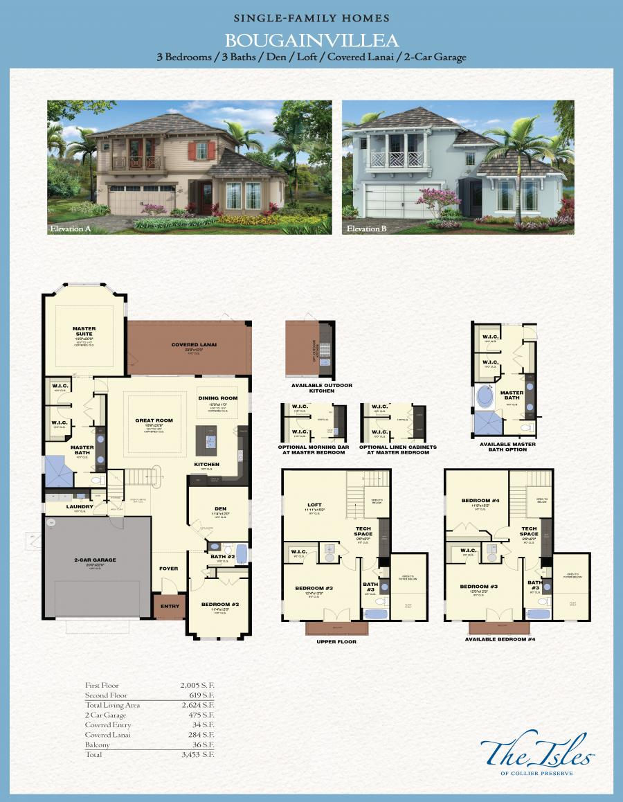 Park Square Homes Floor Plans