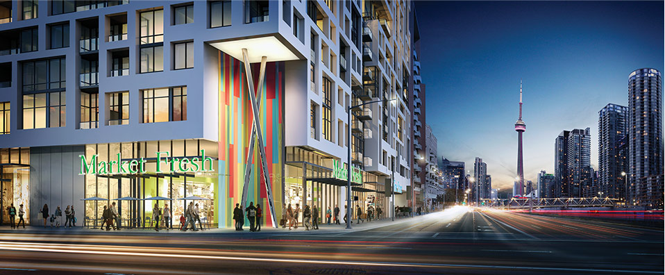 Minto Westside Building  New Condos in Downtown Toronto