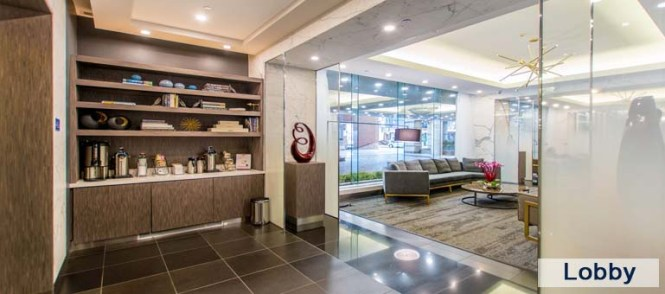 Lobby In Luxury Apartments For Yorkville Downtown Toronto